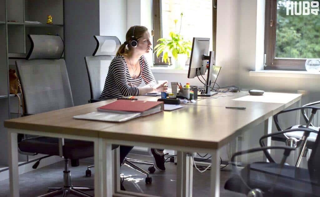 В HUB 4.0 на Подоле кажется супер-офис